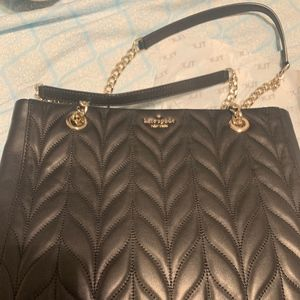 Kate Spade Quilted Menna Black crossbody